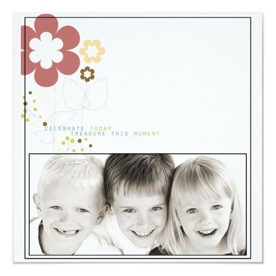 family potriat photo card