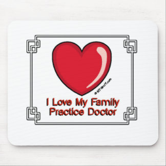 Family Practice Doctor Mouse Pad