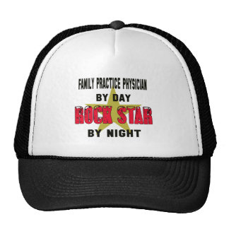 Family Practice Physician by Day rockstar by night Trucker Hat