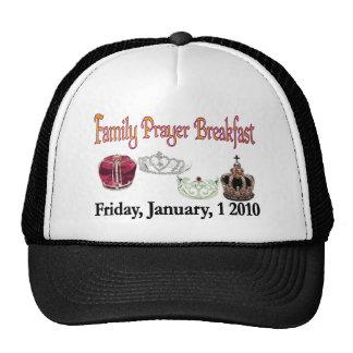 Family Prayer Breakfast Hat