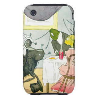 Family Problems iPhone 3 Tough Cover