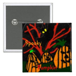 Family Pumpkin Button
