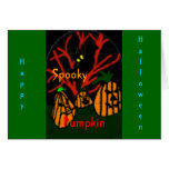 Family Pumpkin Greeting Cards