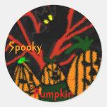Family Pumpkin Sticker