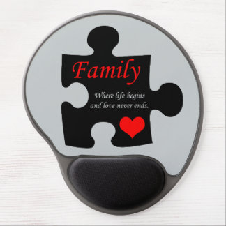 Family Puzzle Gel Mouse Pads