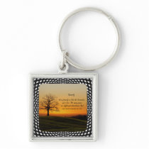 FAMILY QUOTE KEYCHAIN