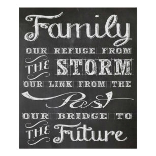 Family Quote Poster