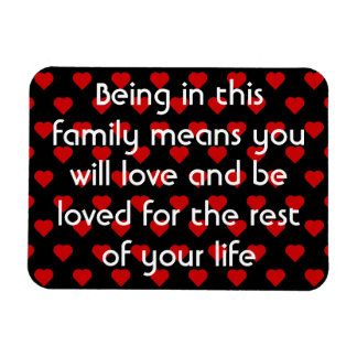 Family Quote | Refrigerator Magnet