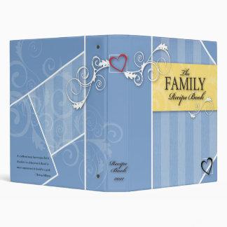 Family Recipe Book 3 Ring Binder