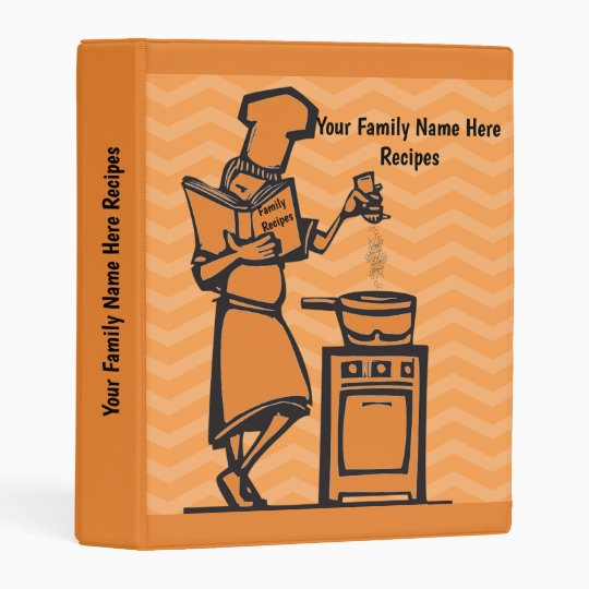 Family Recipe Mini Binder