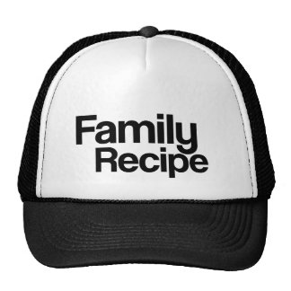 Family Recipe Trucker Hat