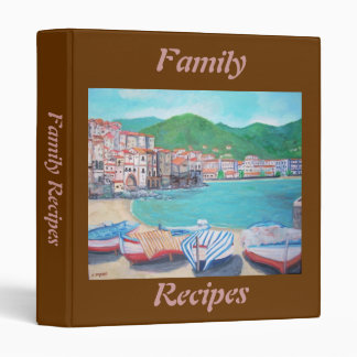 Family Recipes Avery Binder