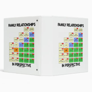 Family Relationships In Perspective Genealogy 3 Ring Binder
