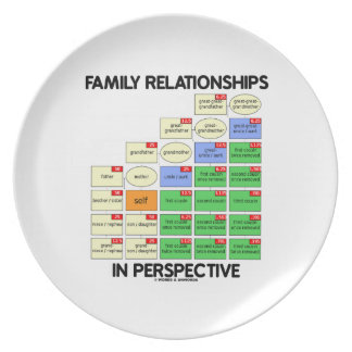 Family Relationships In Perspective Genealogy Plate