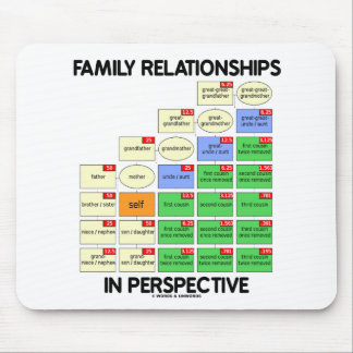 Family Relationships In Perspective (Reunion) Mouse Pad