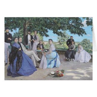 Family reunion, 1867 card