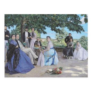 Family reunion, 1867 postcard