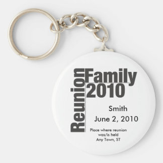 Family Reunion 2010 souviner keychain
