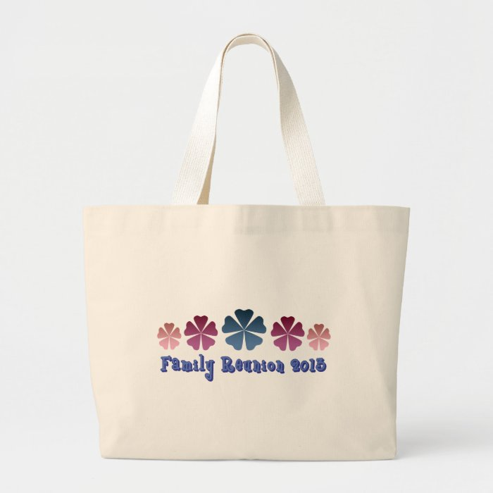 Family Reunion 2013 Large Tote Bag