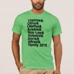 "Family Reunion 2018 T-Shirt<br><div class=""desc"">Long Barn 2018</div>"