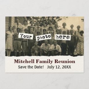 family reunion template gifts on zazzle