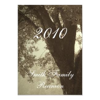 Family Reunion..Antique Sepia Tone Card