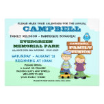 Family Reunion Barbeque Personalized Invites