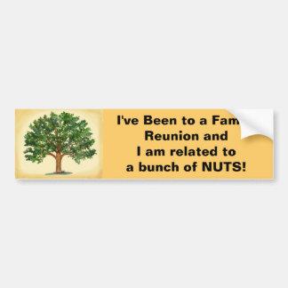 Family Reunion Bumper Sticker