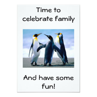 FAMILY REUNION CELEBRATION CARD