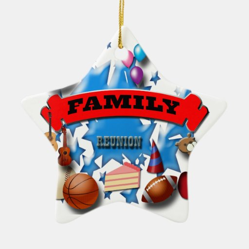 Family reunion christmas ornaments zazzle for Family christmas ornaments to make