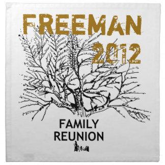 Family Reunion cloth napkin