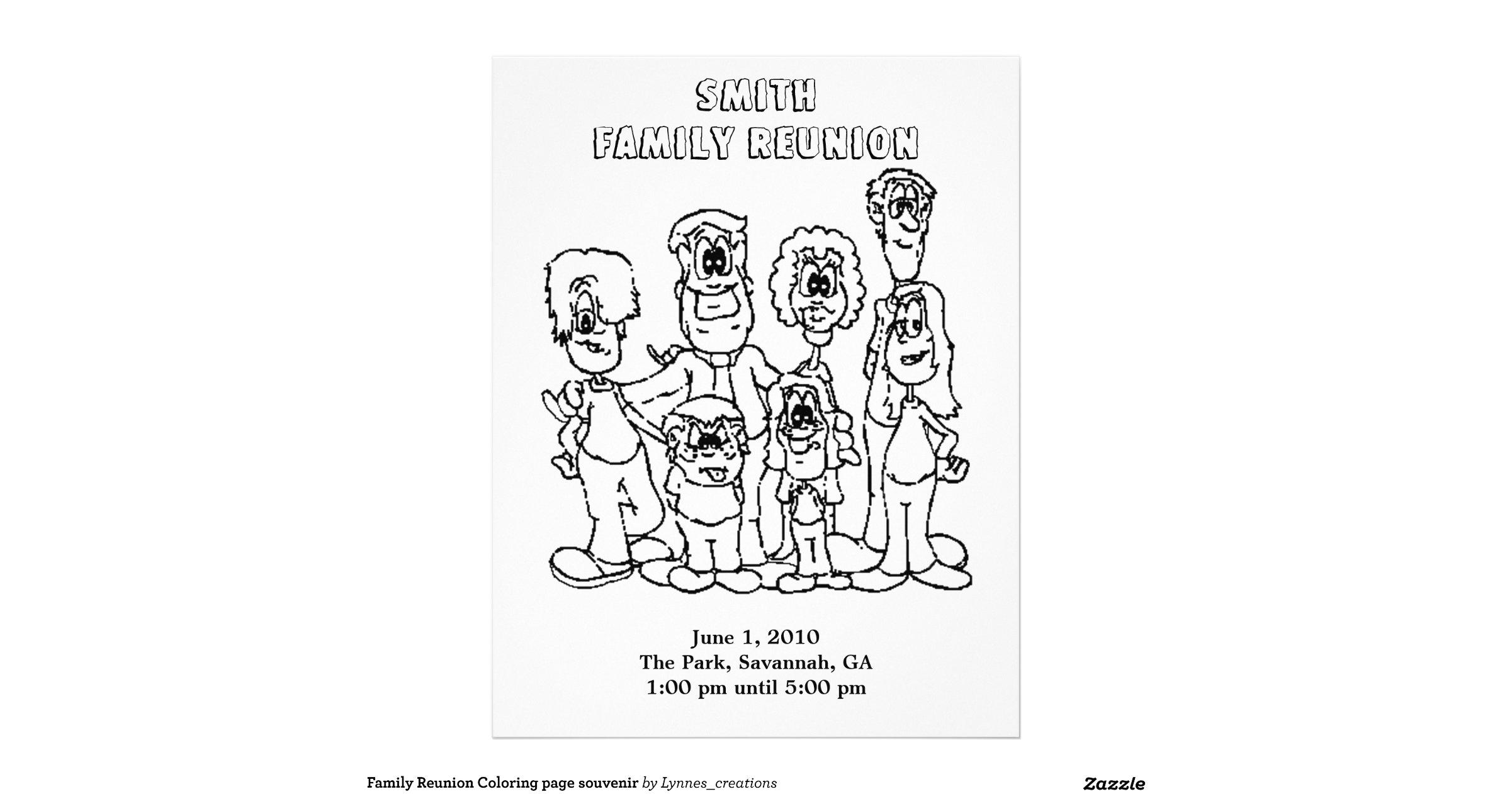 family_reunion_coloring_page_souvenir_letterhead