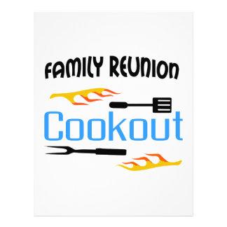 Family Reunion Cookout Letterhead