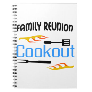 Family Reunion Cookout Notebook