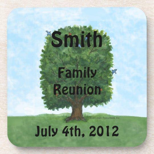 Family Reunion Cork Coaster