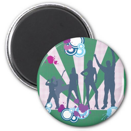Family Reunion Customizable 2 Inch Round Magnet