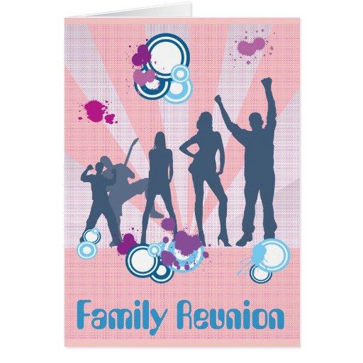 Family Reunion Customizable Card