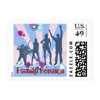 Family Reunion Customizable Postage