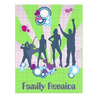 Family Reunion Customizable Postcards