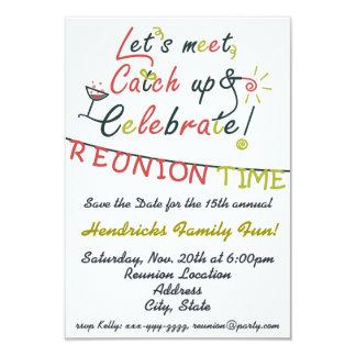 Family Reunion design Card