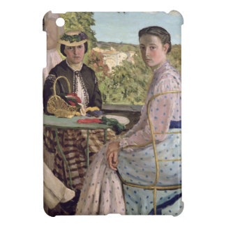 Family Reunion, detail of two women, 1867 iPad Mini Cases