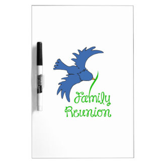 FAMILY REUNION Dry-Erase WHITEBOARD