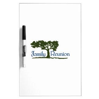 Family Reunion Dry-Erase Whiteboards