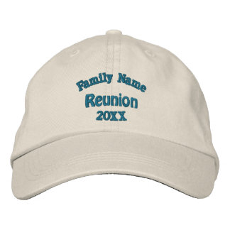 Family Reunion Embroidered Baseball Cap
