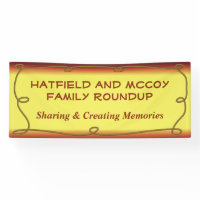 Family Reunion - Family Roundup Banner