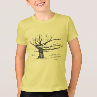 FAMILY Reunion: Gnarly Tree in Pencil: Family Ties T-Shirt