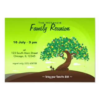 Family Reunion (Green) Card