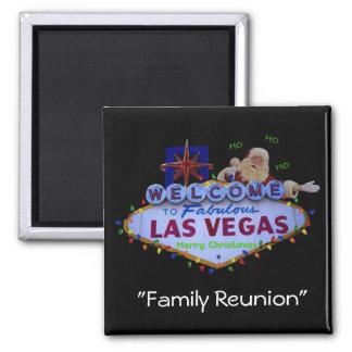 Family Reunion In Fabulous Las Vegas Magnet