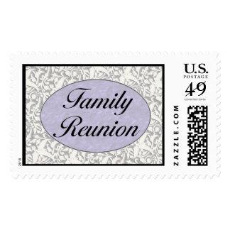 Family Reunion Invitation Stamp