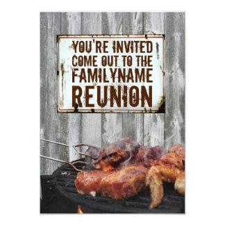 "Family Reunion Invitations 5"" X 7"" Invitation Card"
